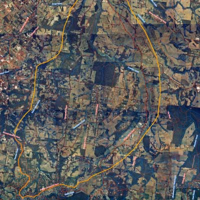 macclesfield landcare group aerial map
