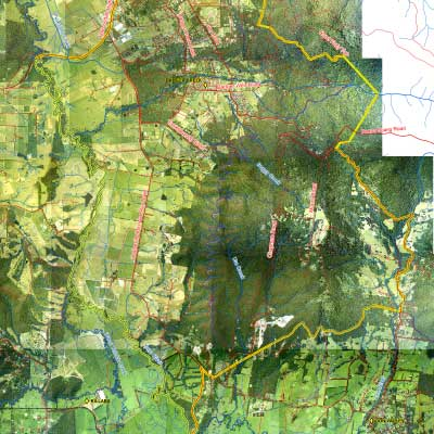 Mt toolebewong district landcare aerial map