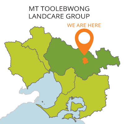 Mt toolebewong district landcare map
